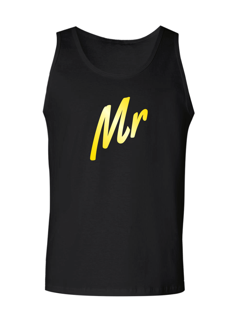 Mr. & Mrs. - Couple Tank Tops
