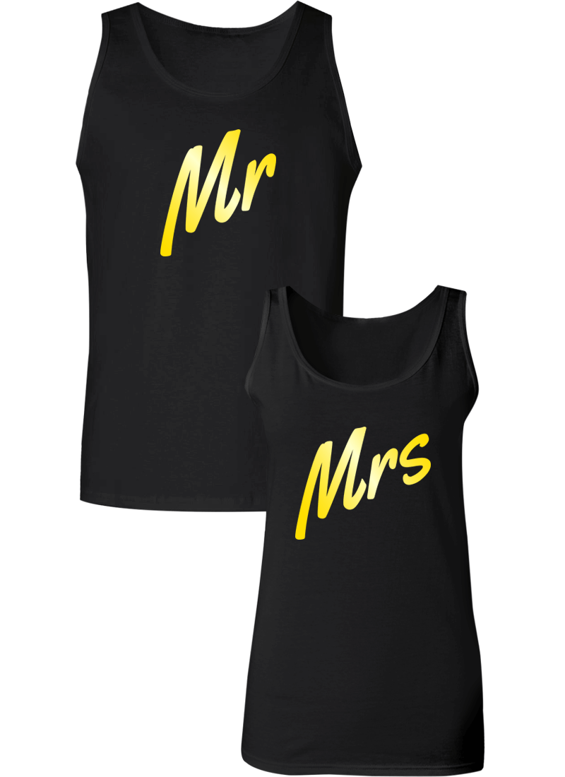 Mr. and Mrs. Couple Tanks