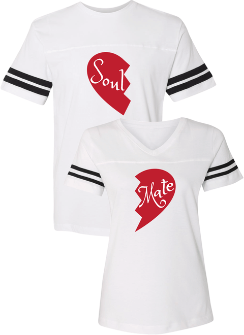 Soul and Mate Couple Sports Jersey