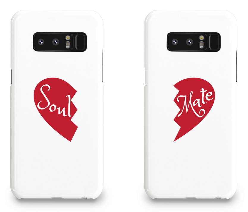 Soul and Mate - Couple Matching Phone Cases