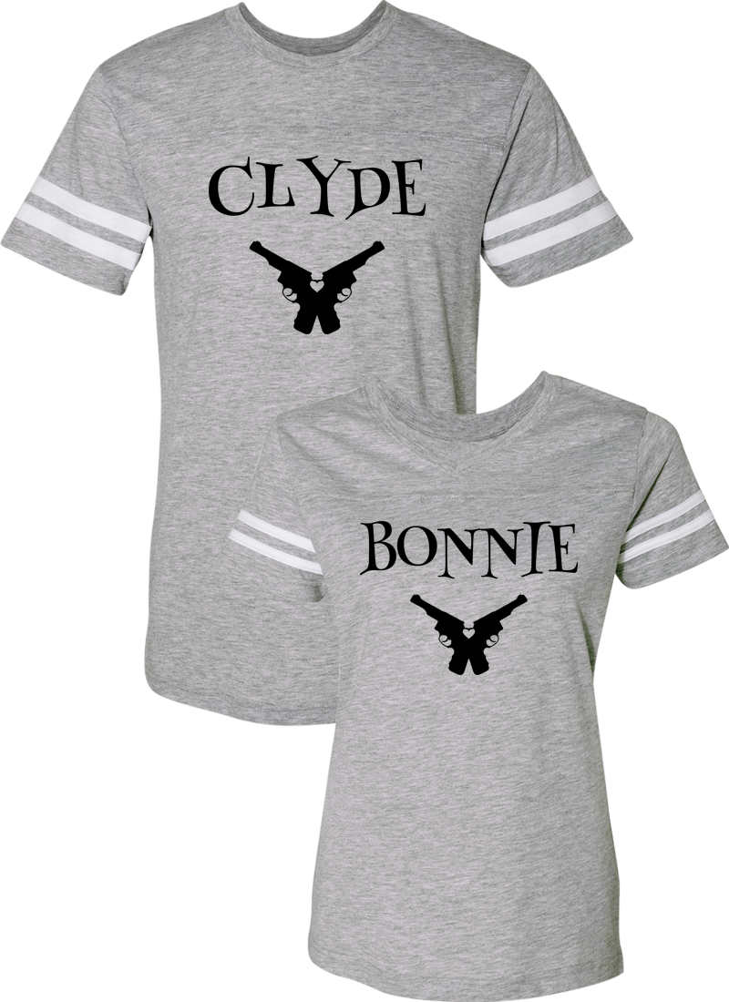 Clyde & Bonnie Couple Sports Jersey