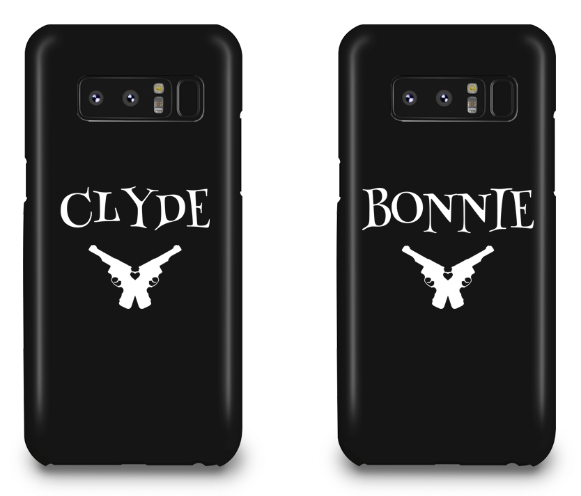 Clyde & Bonnie - Couple Matching Phone Cases