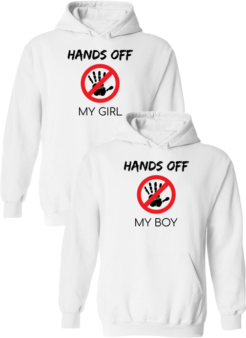 e84bf96a Hands Off My Girl & Boy - Couple Hoodies – Couples Apparel