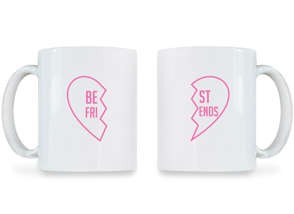 Best Friend - BFF Coffee Mugs