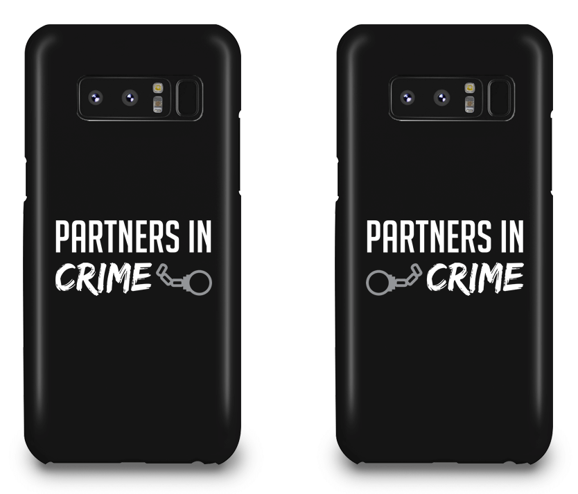 Partners In Crime Best Friend - BFF Matching Phone Cases