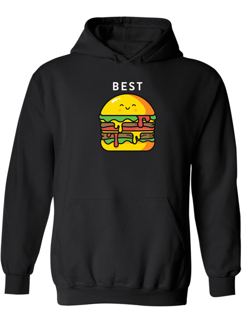 Burger & Fries Best Friend - BFF Hoodies