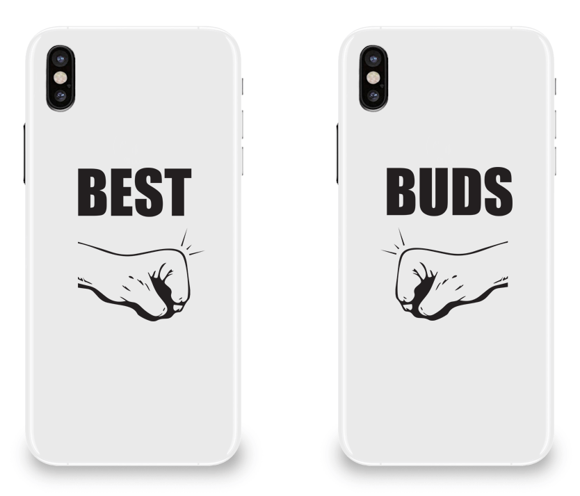 Best Buds Best Friend - BFF Matching iPhone X Cases