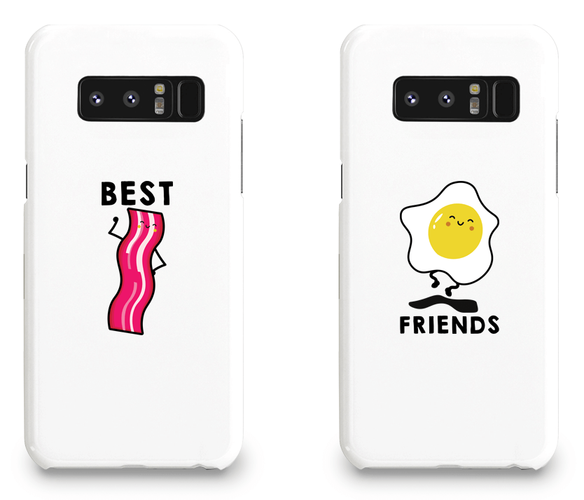 Bacon & Egg Best Friend - BFF Matching Phone Cases