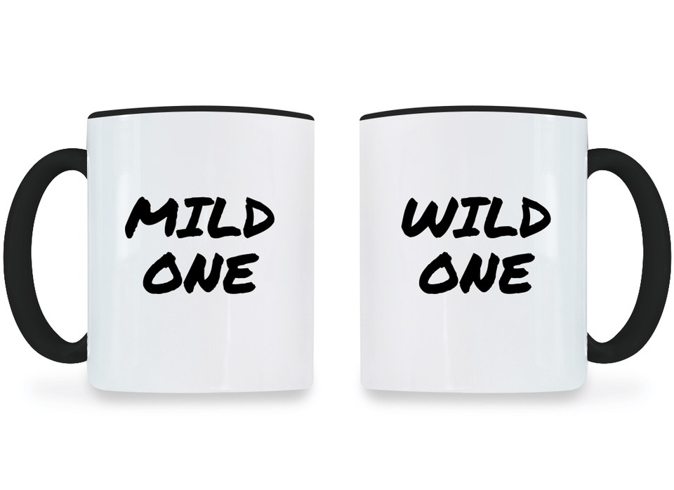 Mild & Wild One Best Friend - BFF Coffee Mugs