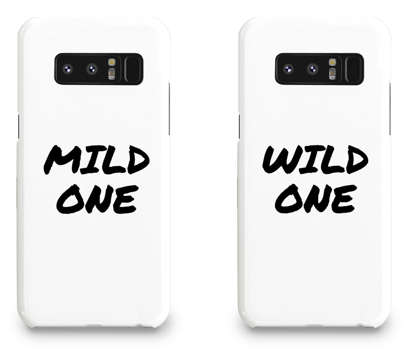 Mild & Wild One Best Friend - BFF Matching Phone Cases