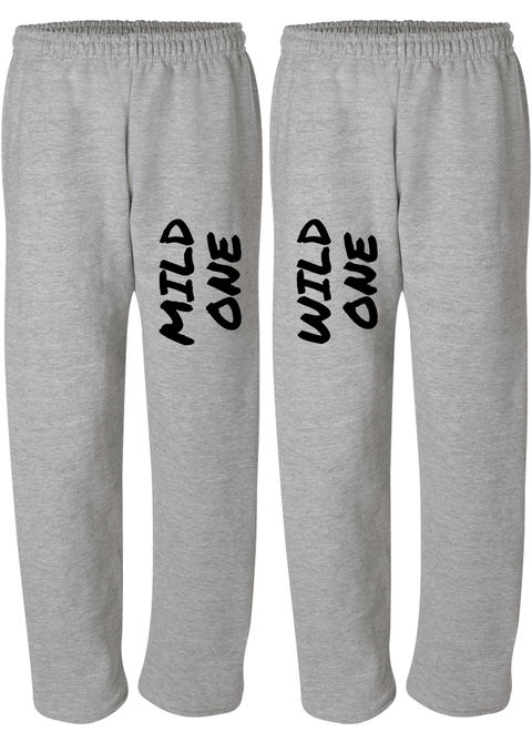 Mild & Wild One Best Friend - BFF Matching Sweatpants