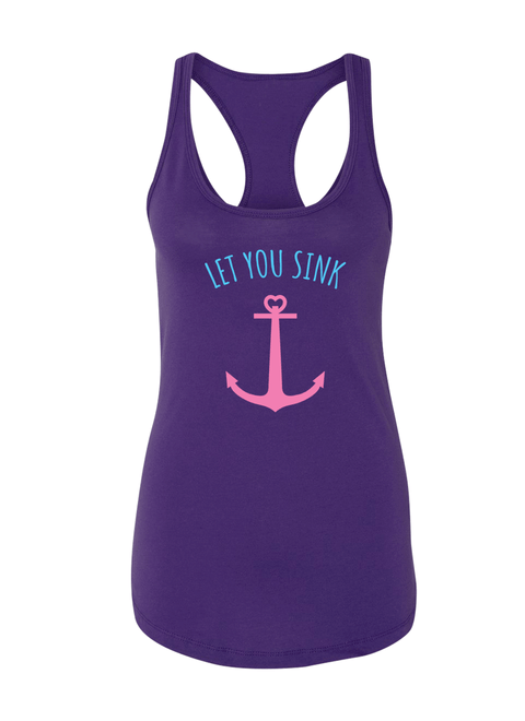 I Will Never Let You Sink Best Friend - BFF Racerbacks