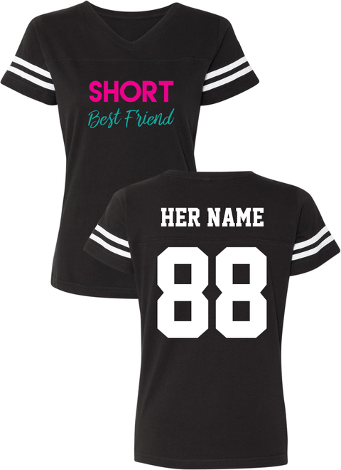 Short & Tall Best Friend - BFF Cotton Jerseys