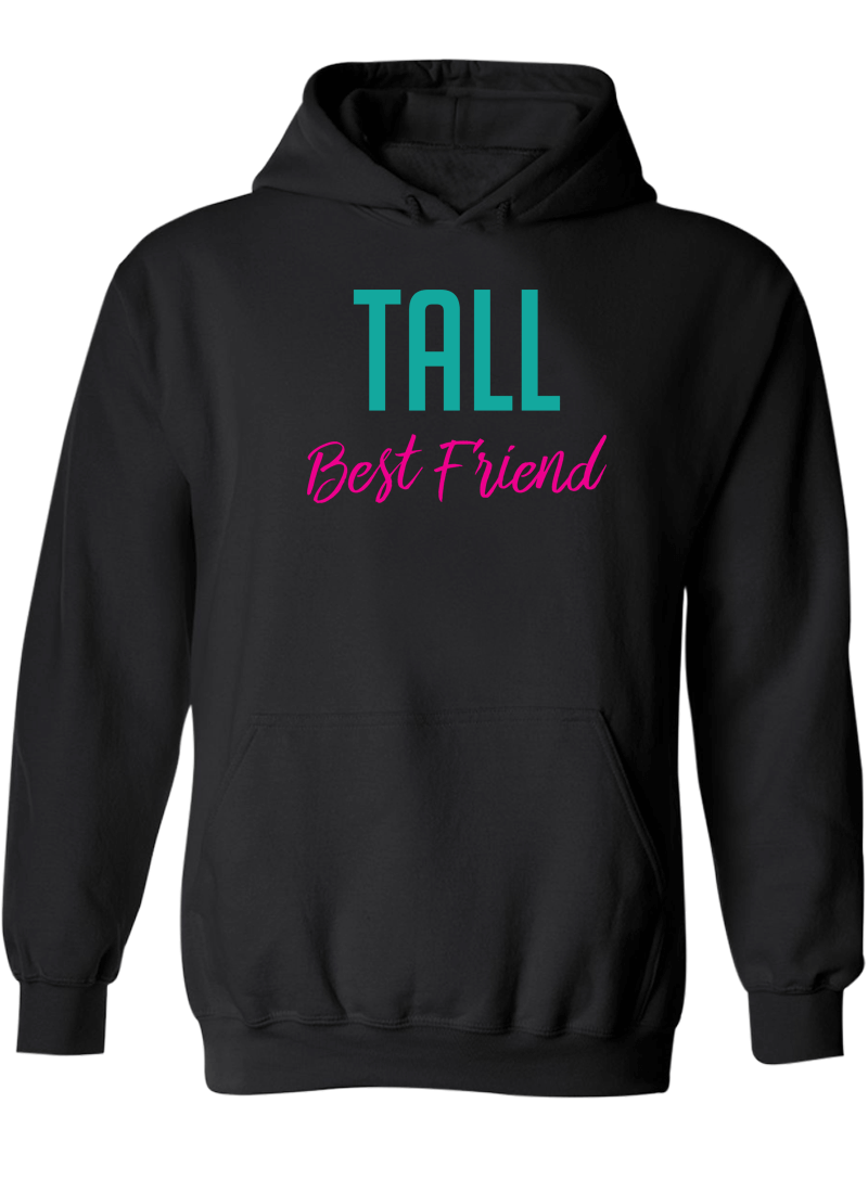 Short & Tall Best Friend - BFF Hoodies