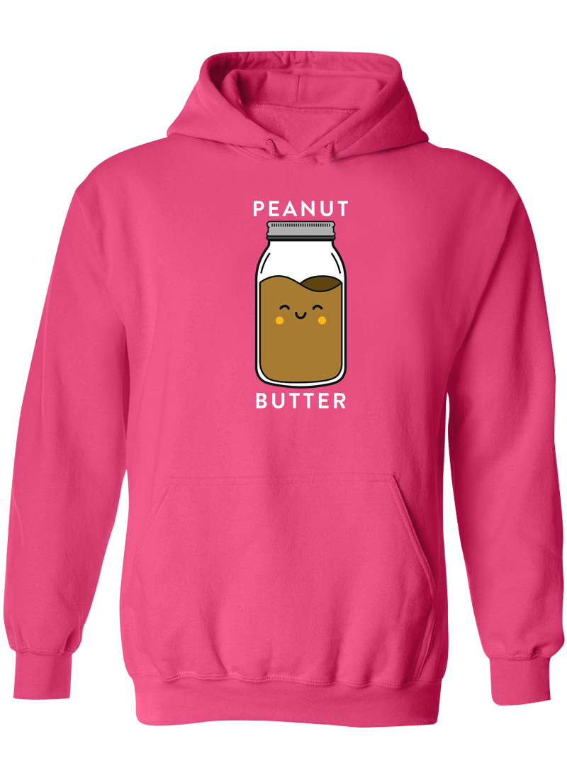 Peanut Butter & Jelly Best Friend - BFF Hoodies
