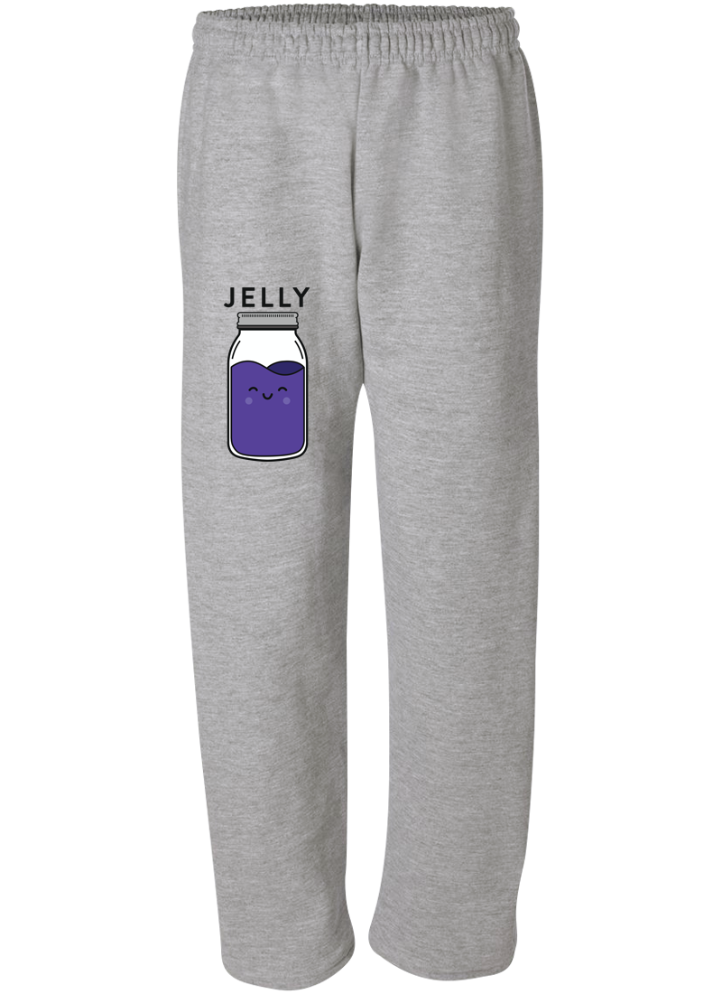 Peanut Butter & Jelly Best Friend - Best Friend Forever Matching Sweatpants