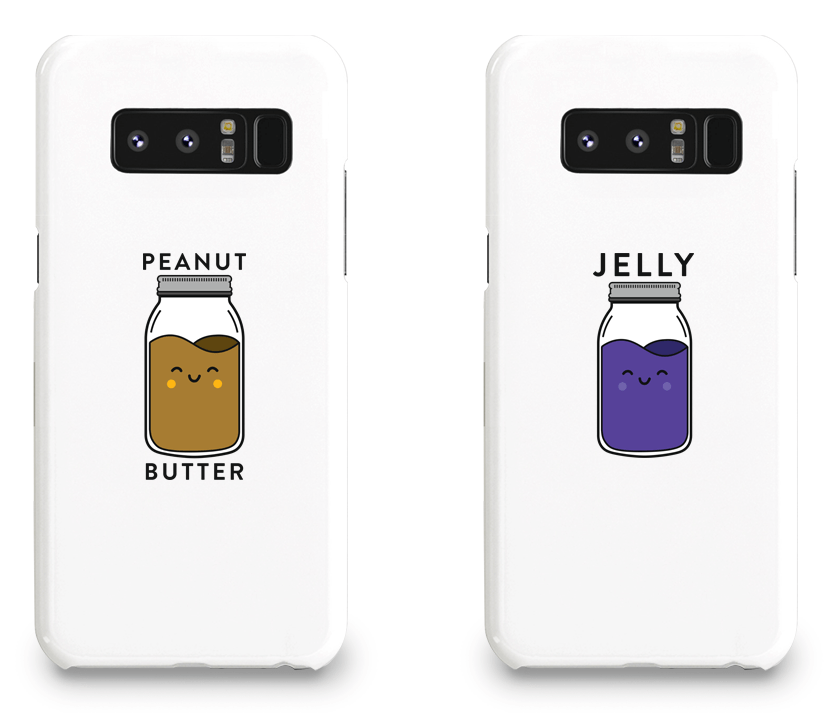 Peanut Butter & Jelly Best Friend - BFF Matching Phone Cases