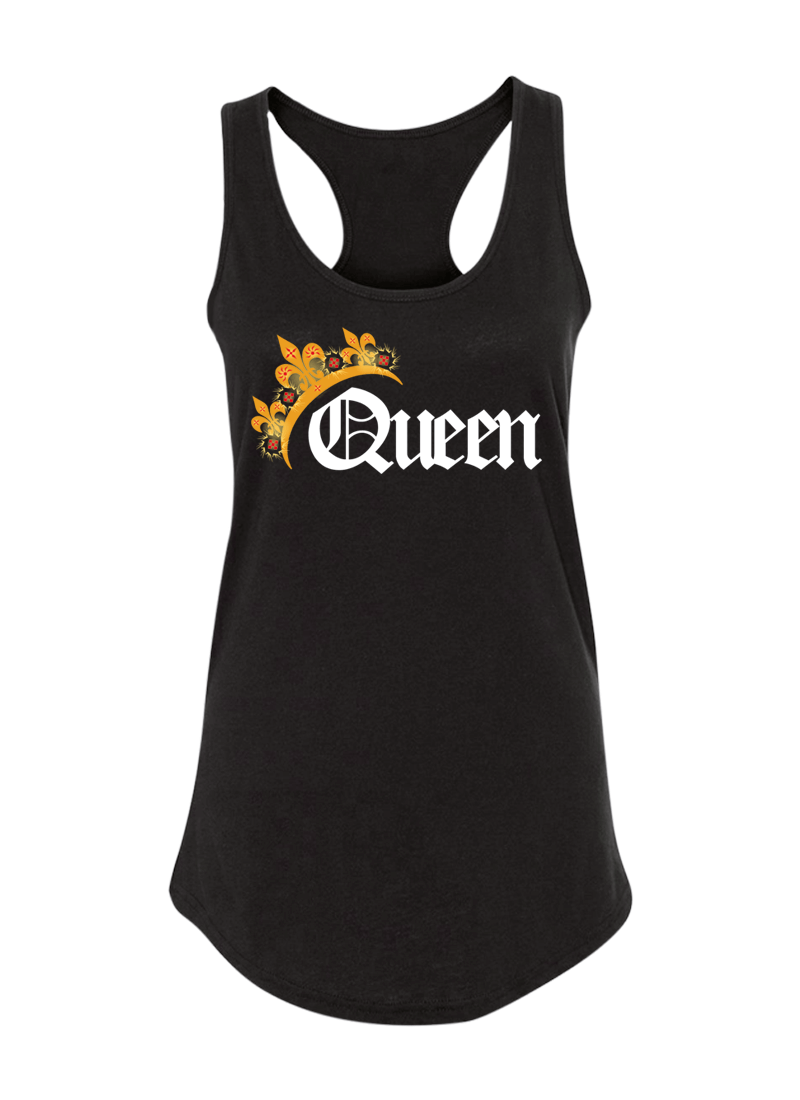 King & Queen - Couple Shirt & Racerback