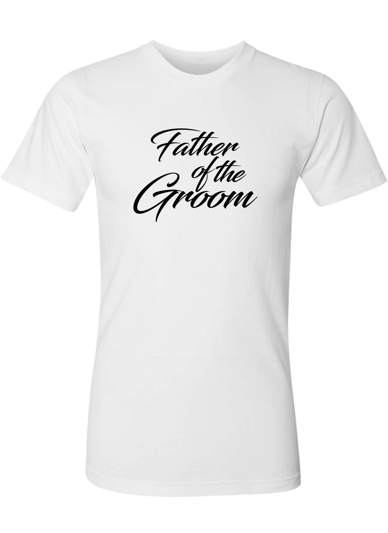 Father of the Groom Shirt - Wedding Shirts