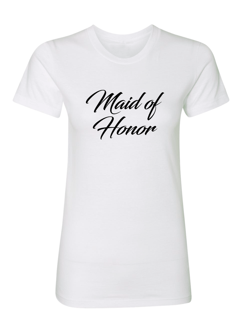 Maid of Honor Shirt - Wedding Shirts