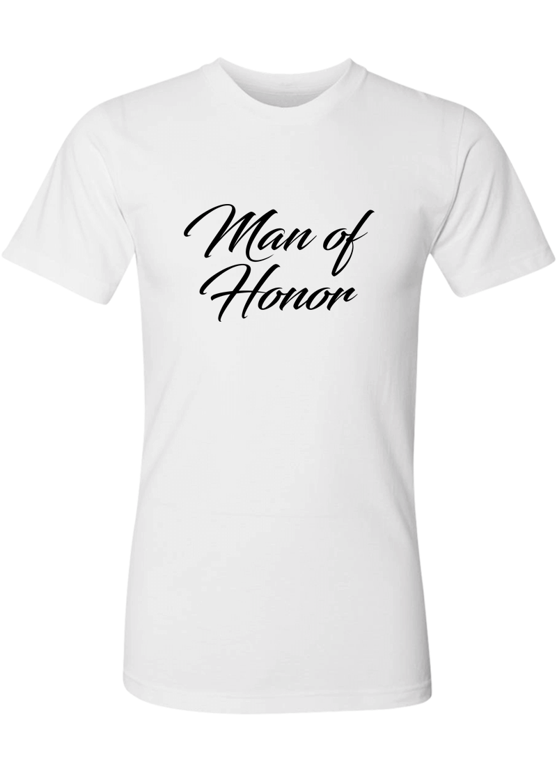 Man of Honor Shirt - Wedding Shirts