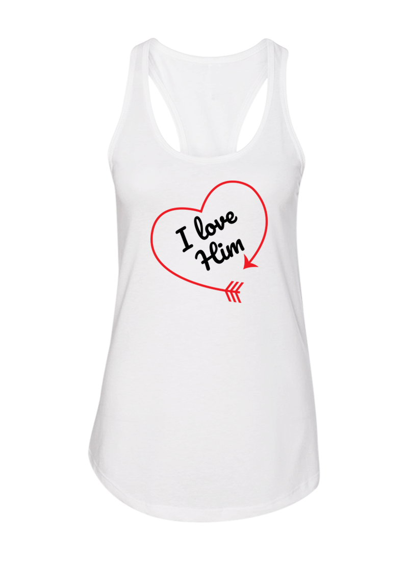 I love Her & Him - Couple Shirt & Racerback