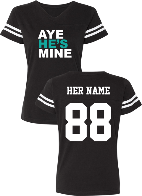 Aye She's Mine & Aye He's Mine - Couple Cotton Jerseys