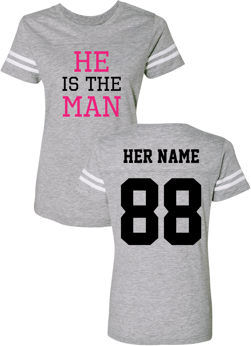 She Is The Boss & He Is The Man - Couple Cotton Jerseys