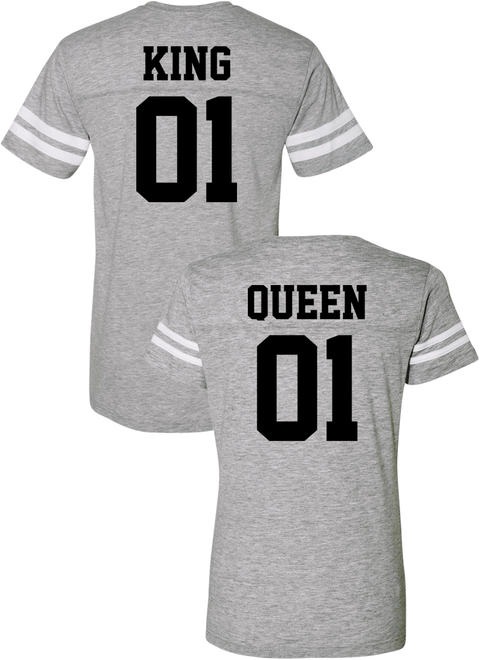 king and queen jerseys