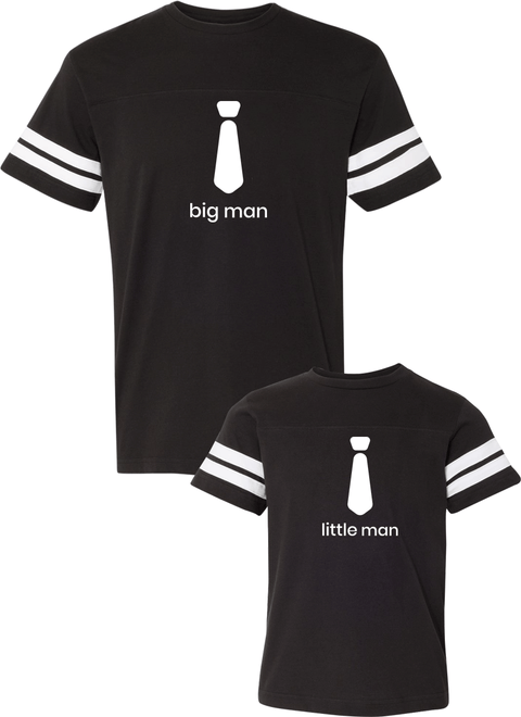 Big Man & Little Man - Dad & Kid Jerseys - Family Jerseys