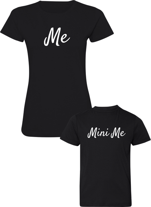 Me & Mini Me - Mom & Kid Shirts - Family Shirts