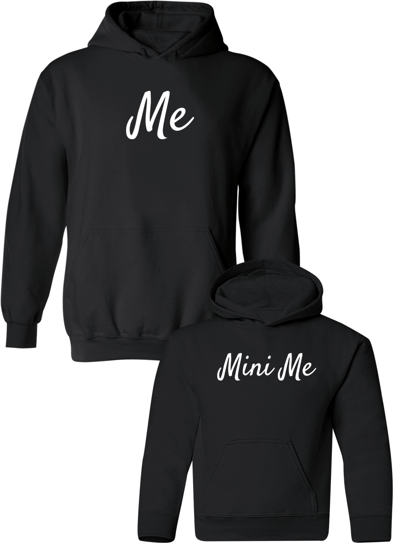 Me & Mini Me - Mom & Kid Hoodies - Family Hoodies