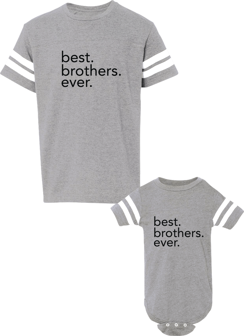 Best Brothers Ever - Brother Jerseys - Family Jerseys