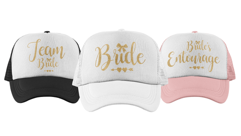 Ribbon - Bachelorette Party Trucker Hats