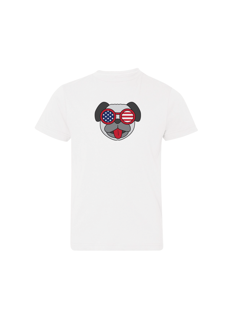 Pug With Sunglasses - 4th of July Shirts