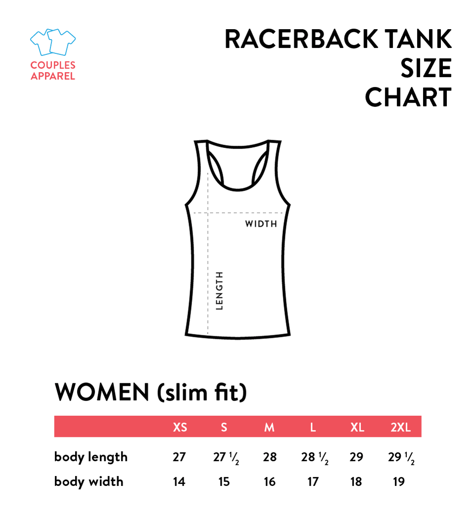 Short & Tall Best Friend - BFF Racerbacks