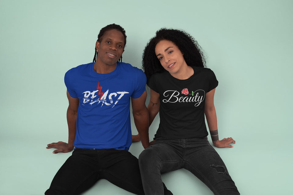 Beast & Beauty - Couple Shirts