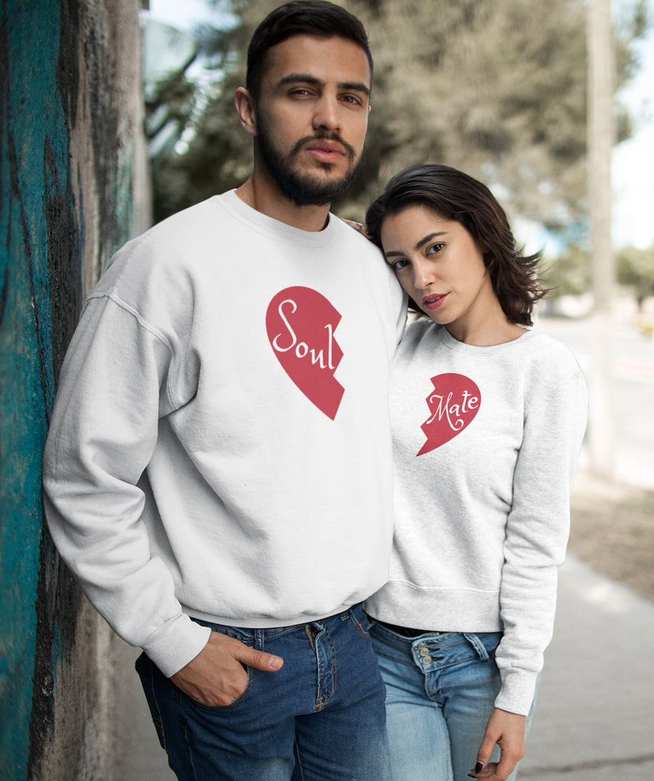 Soul & Mate - Couple Sweatshirts