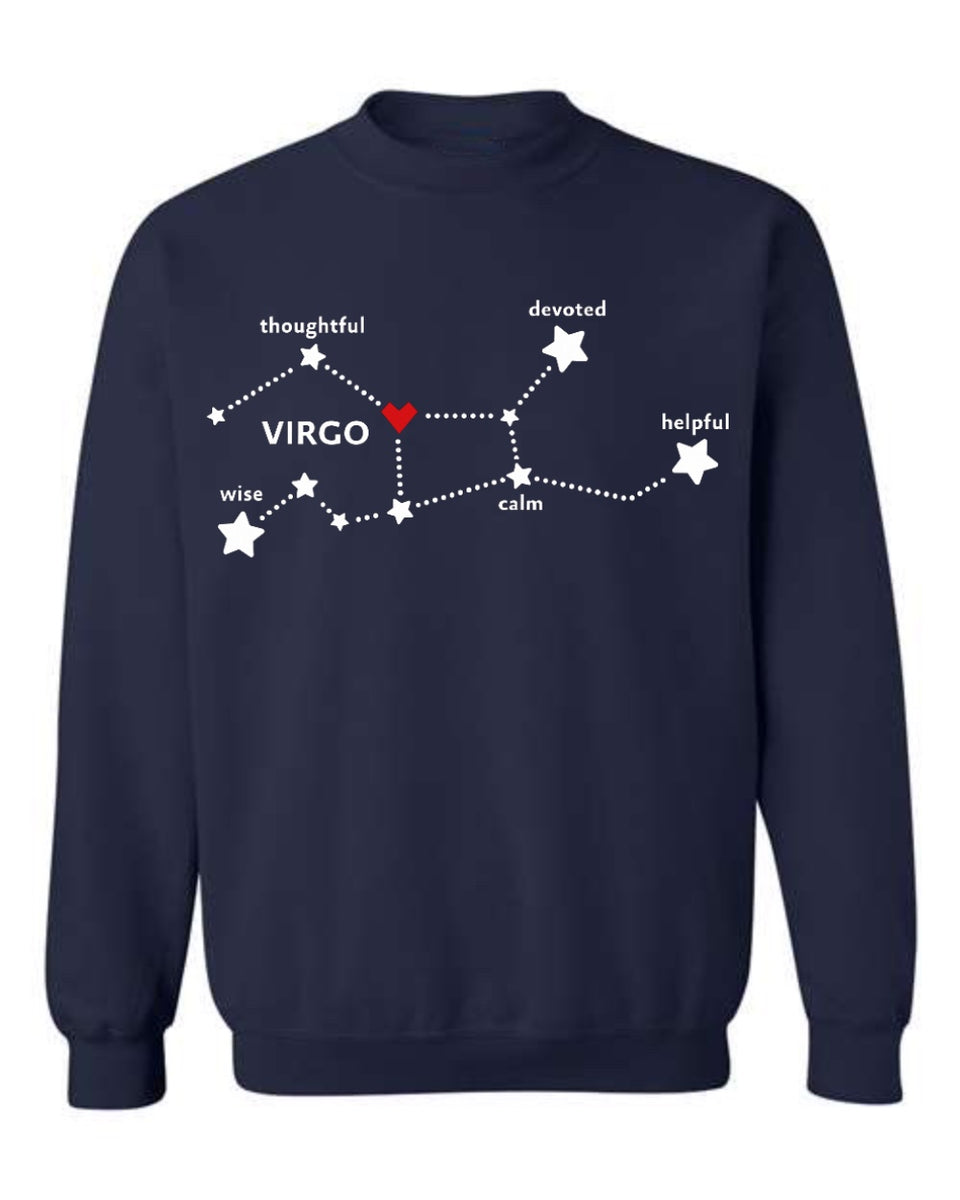 Virgo - Star Sign Sweatshirt
