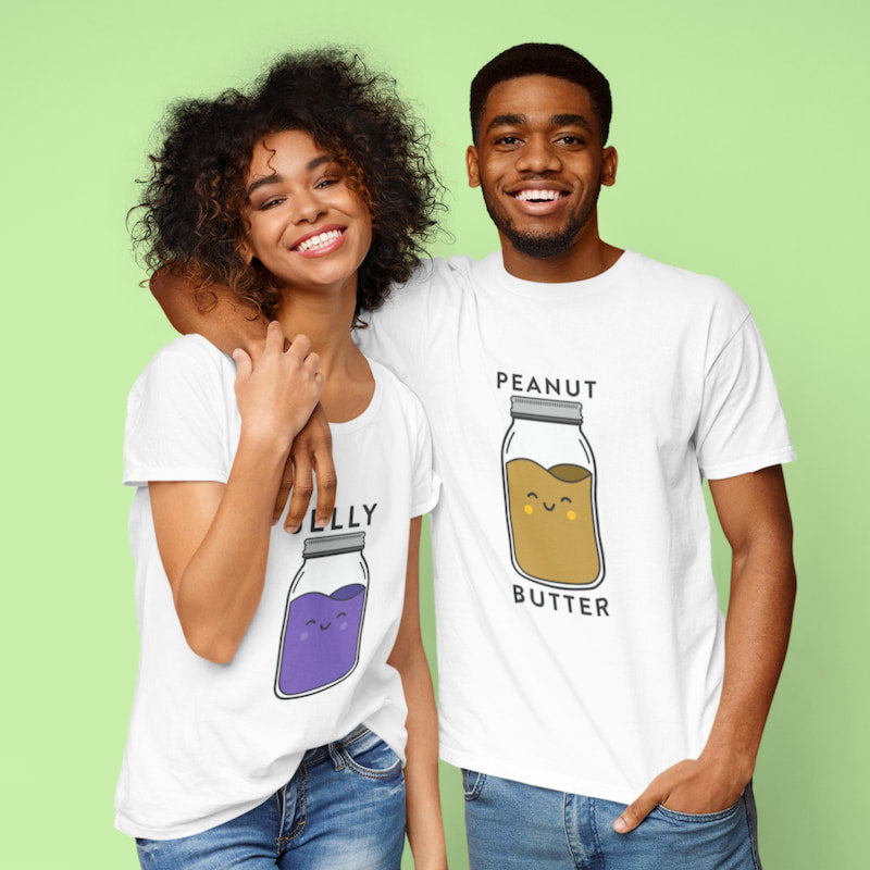 Peanut Butter & Jelly - Couple Shirts