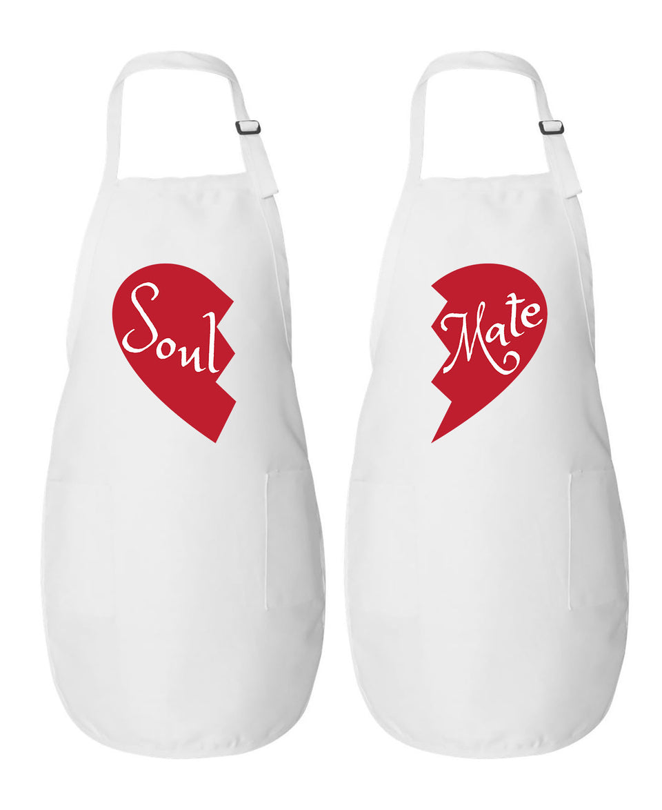 Soul & Mate - Couple Aprons