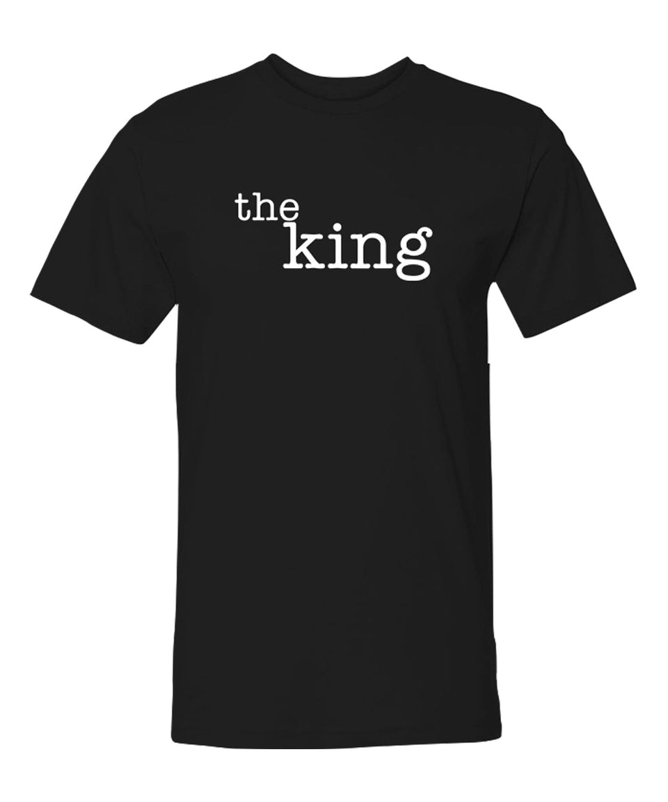 The King & The Queen - Couple Shirts