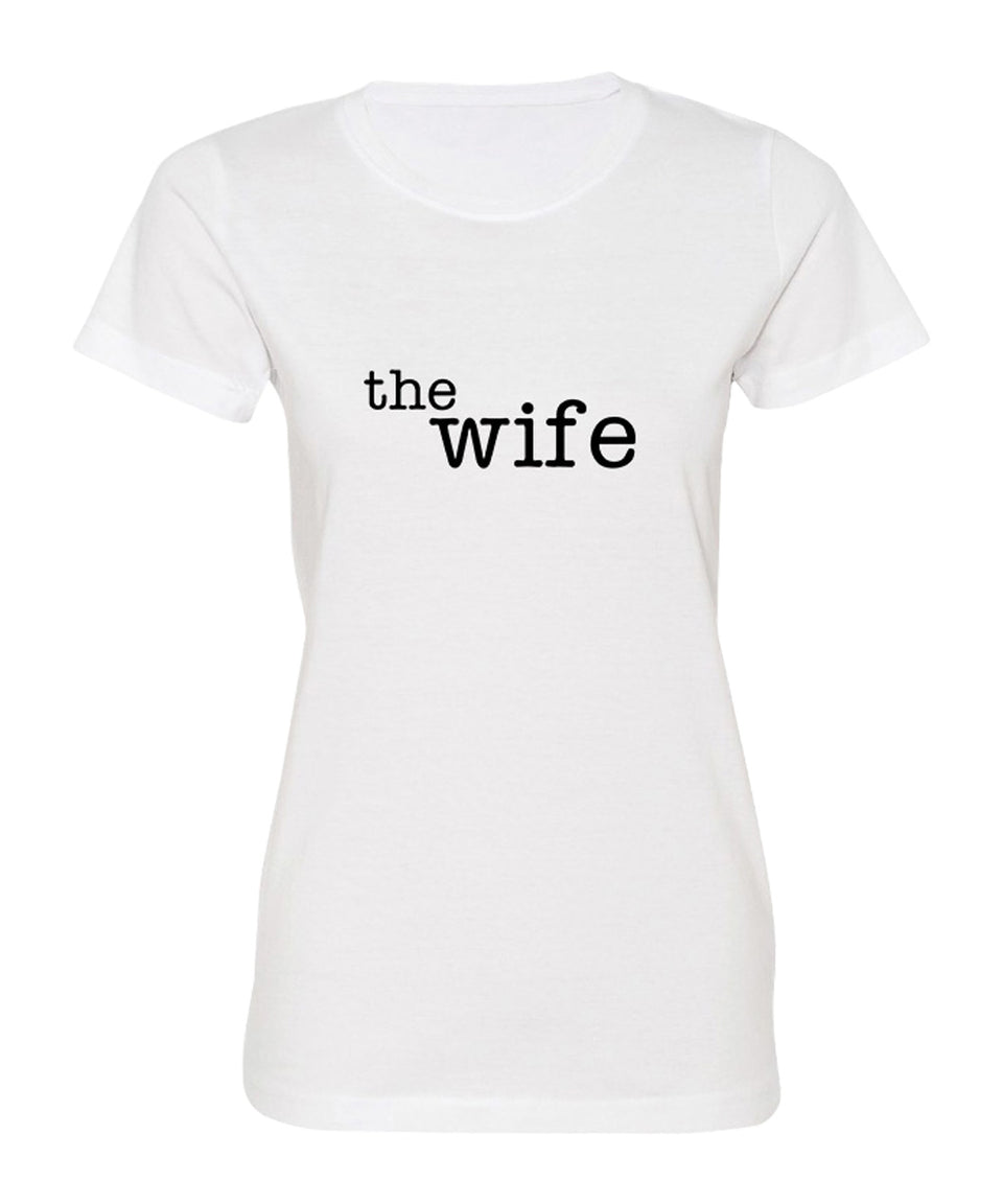 The Husband & The Wife - Couple Shirts