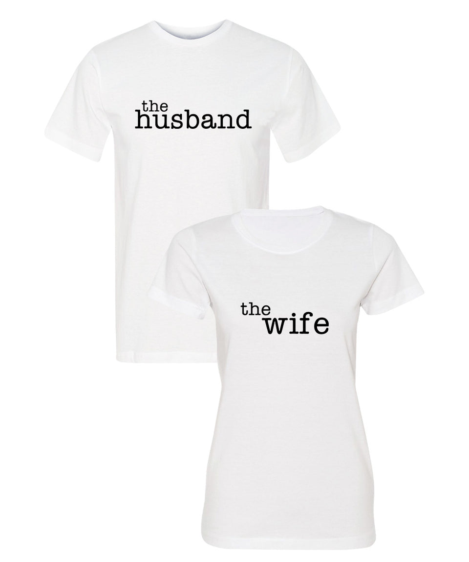 The_Husband_The_Wife_Couple_Shirts