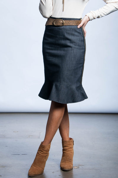Emily Skirt - Denim