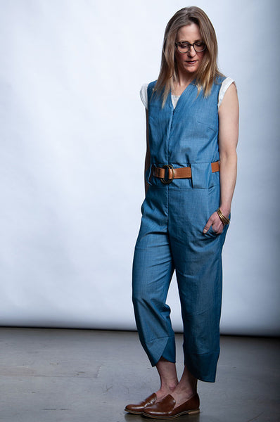 Always Jumpsuit - Blue Chambray