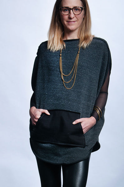 Circle Sweater - Charcoal