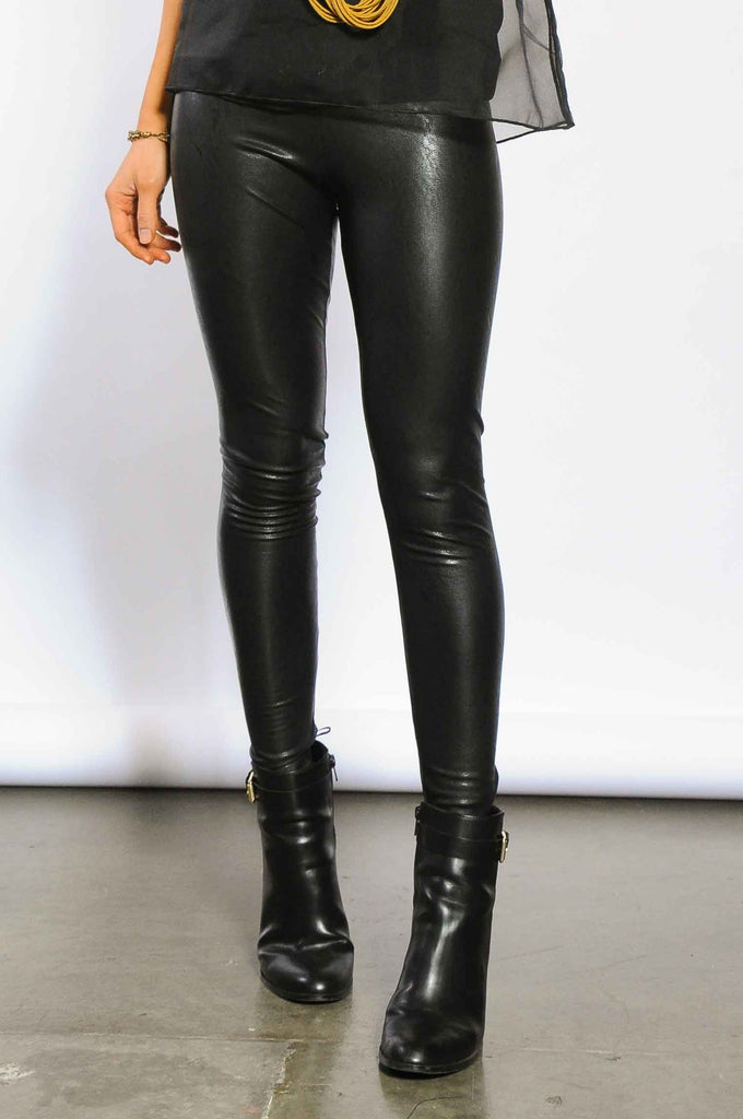 ade5aded8be40 Faux Leather Leggings - Black – Garnish