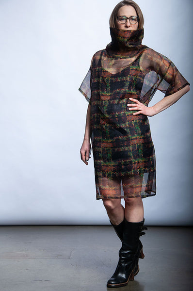 Fade to Light Dress - Rebirth Plaid