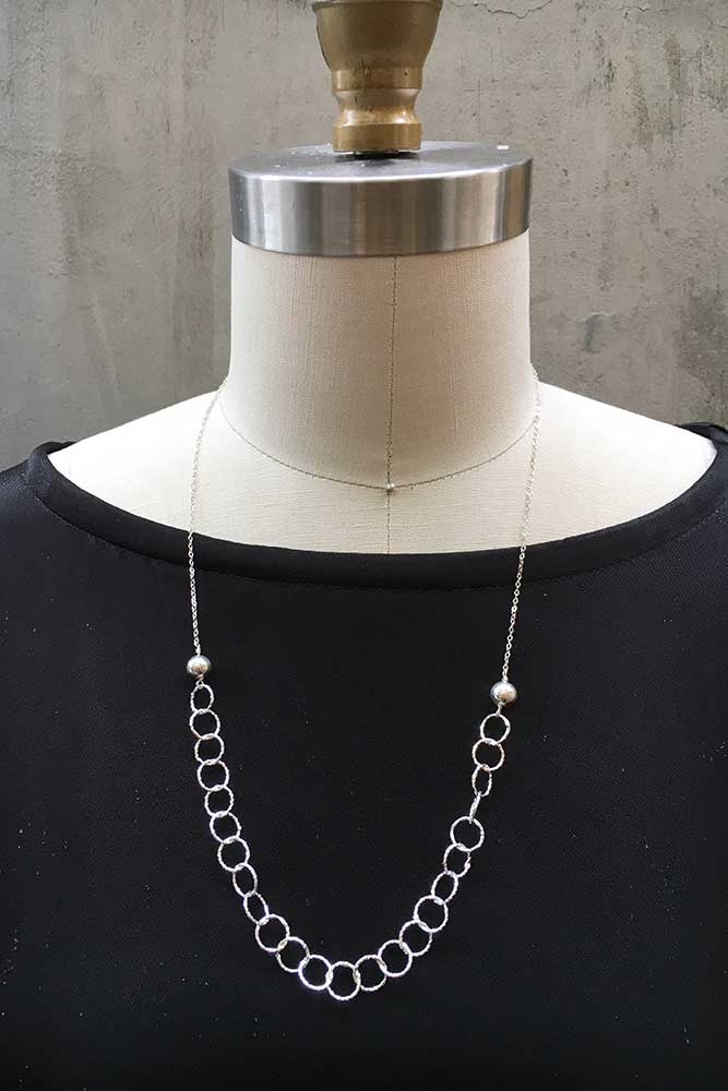 Shape Shifter Necklace - Silver